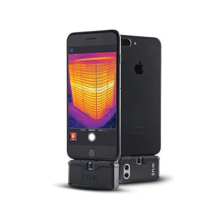 FLIR One Pro conectat la smartphone