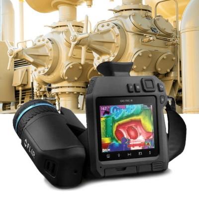 FLIR GF77, camera detectie gaze