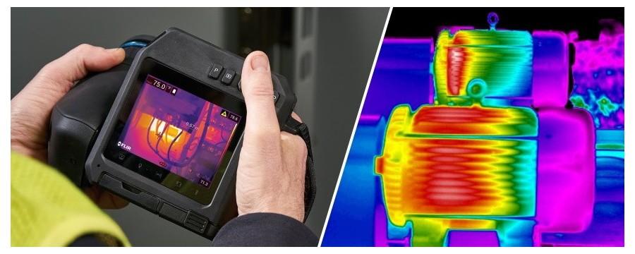 Micronix I Camere termografice pentru inspectii electrice si mecanice