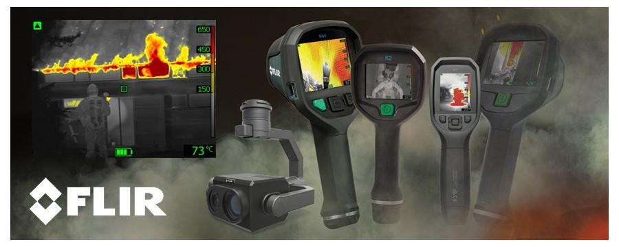 Micronix I Camere termoviziune pentru pompieri, vedere prin fum